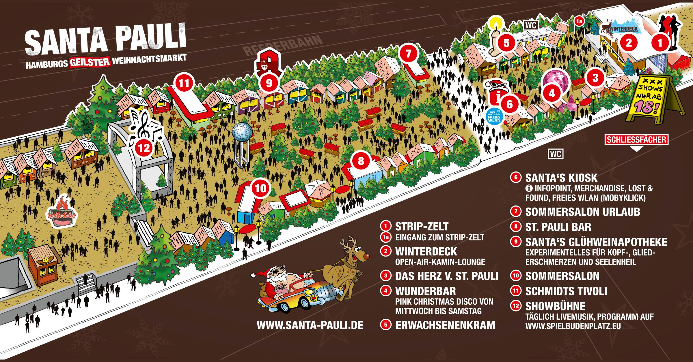 SANTA PAULI Lageplan