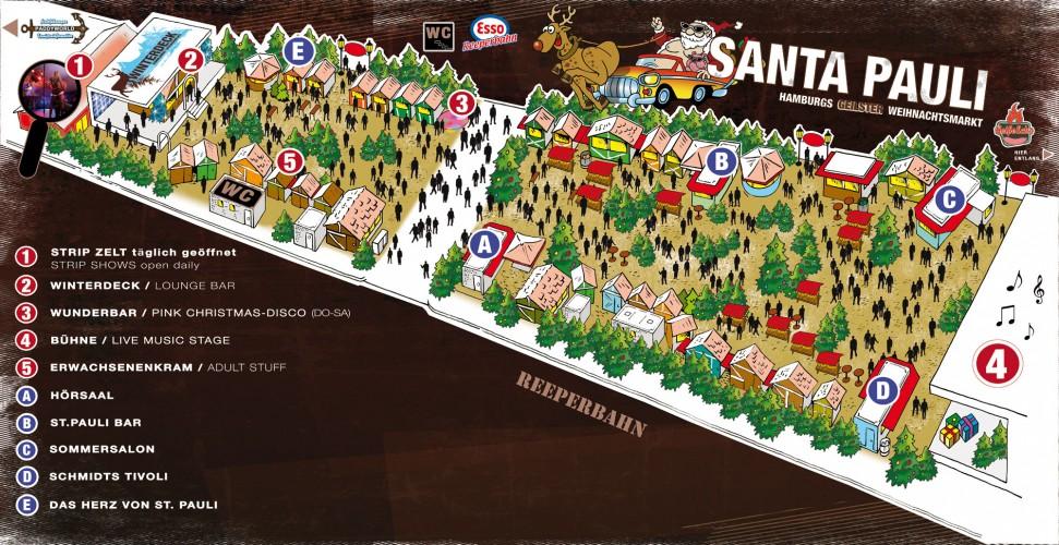 Santa Pauli Lageplan 2013