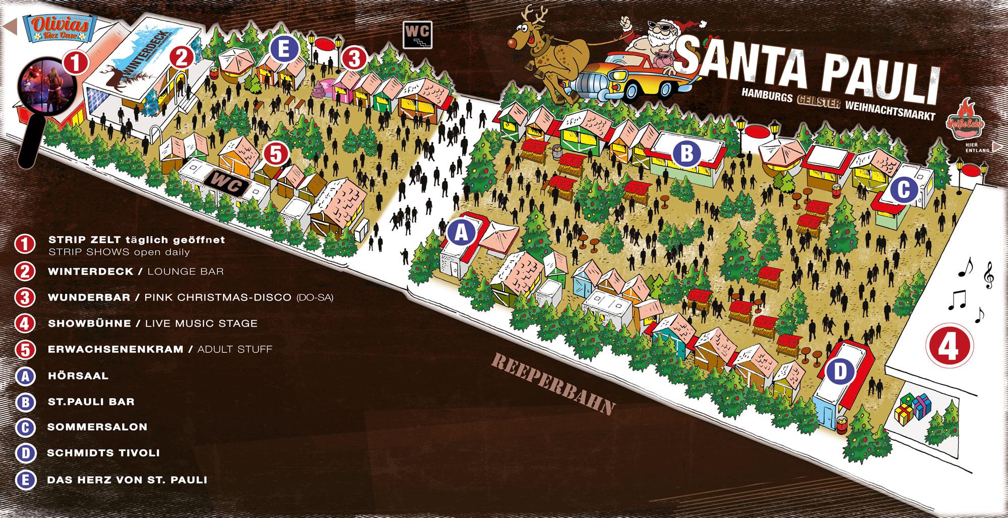 Lageplan Santa Pauli 2014