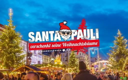 Ndr Weihnachtsbaum.Santa Pauli Verschenkt Seine Weihnachtsbäume Spielbudenplatz