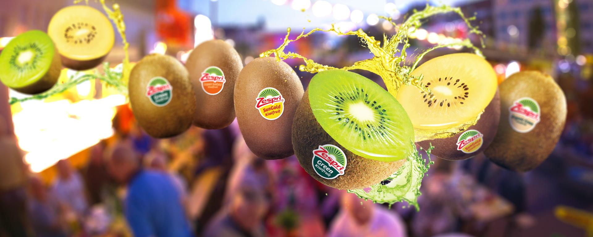St. Pauli Nachtmarkt – Zespri Kiwi-Special